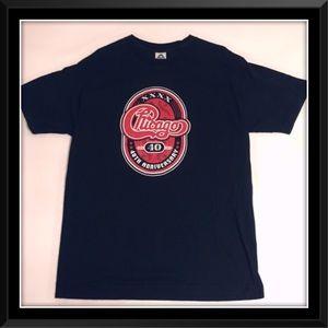 Chicago Concert Tour T-Shirt 40th Anniversary 2007